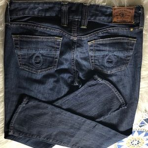 """Lucky Brand Jeans - Lucky brand boot cut jeans size 0/25. 31"""" inseam"""